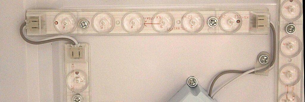 Źródła światła modułowe LED wlampie