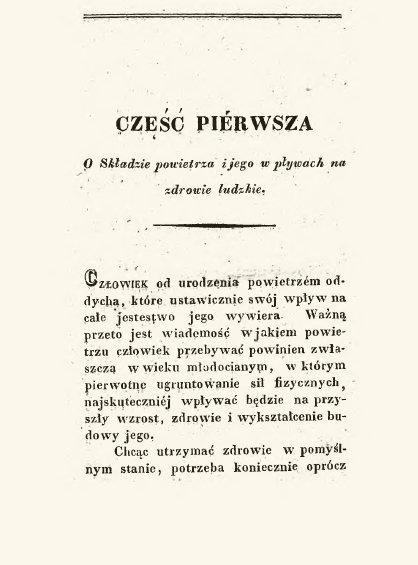 Książka Puternicki, Opis pieców rurowatych dooczyszczania iogrzewania powietrza służących, 1837 r.